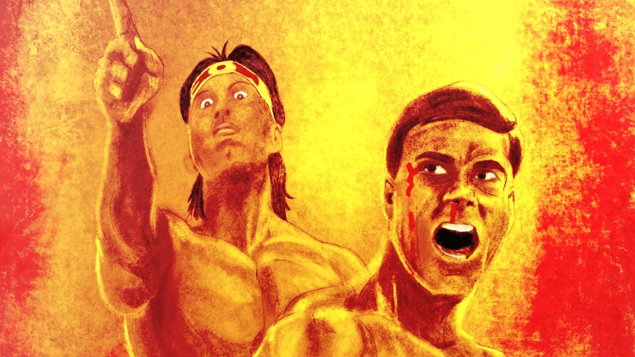 Bloodsport Digital Painting in Procreate – Fight to Survive by Stan Bush