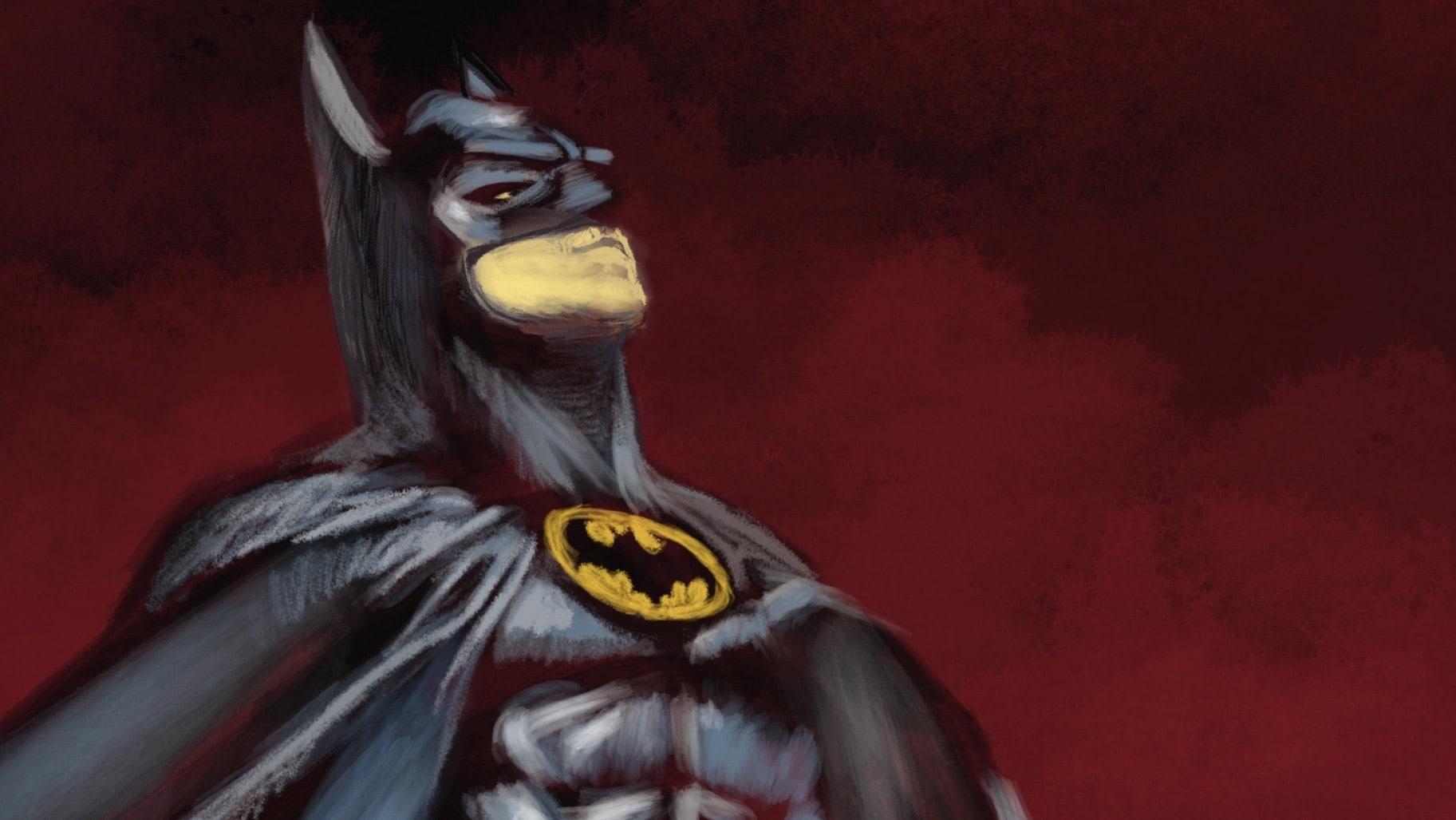 Batman 89: Michael Keaton Procreate Painting Tutorial – Part 1
